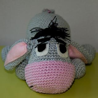 Patron Amigurumi Eeyore : Ravelry: Eeyore - the Winnie the Pooh friend - amigurumi ...