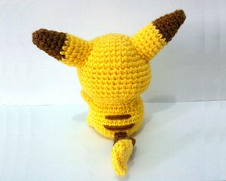 Erin Amigurumi Pokemon : Ravelry: Pikachu Pokemon Amigurumi pattern by Erin Huynh