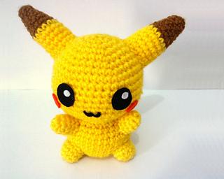 Pikachu En Amigurumi : Ravelry: Pikachu Pokemon Amigurumi pattern by Erin Huynh