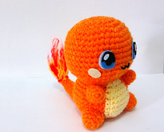 Amigurumi Tutorial Pokemon : Ravelry: Charmander Pokemon Amigurumi pattern by Erin Huynh