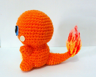 Ravelry: Charmander Pokemon Amigurumi pattern by Erin Huynh
