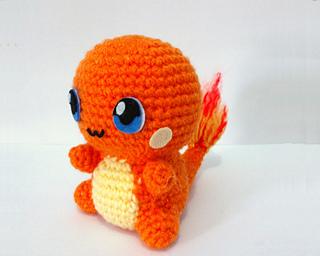 Erin Amigurumi Pokemon : Ravelry: Charmander Pokemon Amigurumi pattern by Erin Huynh
