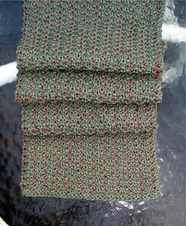 Ravelry: The Noro Slip Stitch Stripe Scarf pattern by Renee M