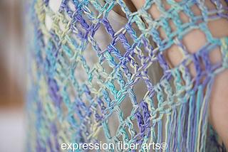 Crochet Pattern For Bohemian Shawl : Ravelry: Boho Triangle Shawl pattern by Chandi Agee