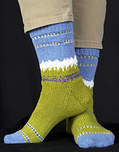 Paradise Meadow Socks PDF