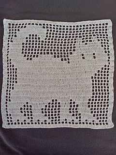 Ravelry Filet Cat Doily Pattern By Julie A Bolduc