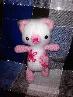 Amigurumi Pink Bear : Ravelry: Amigurumi Pink Bear pattern by Alexandra Boonstra