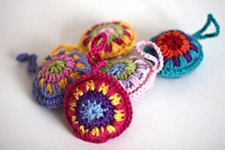 Ravelry Bauble Decoration Pattern By Lucy Of Attic24