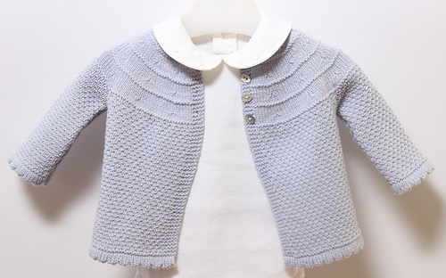 Ravelry 19 Baby Jacket Pattern By Florence Merlin