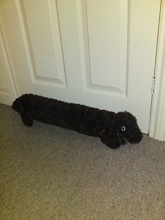 Ravelry Knitted Dog Draft Excluder Pattern By Hobbycraft