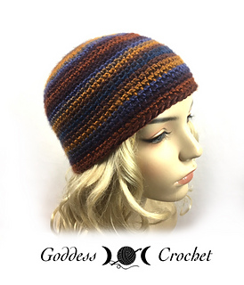 Amigurumi Staggered Increases : Ravelry: Staggered Increase Beanie pattern by Goddess Crochet