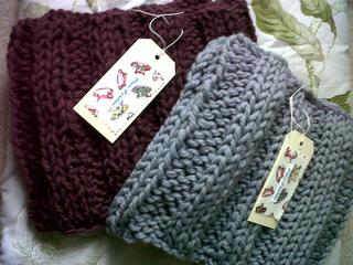 Rowan Knitting Pattern Baby Blanket : Ravelry: Rowan Big Wool Snood pattern by Grace Paretree