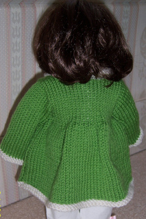 Ravelry American Girl Flared Sweater Pattern By Janet