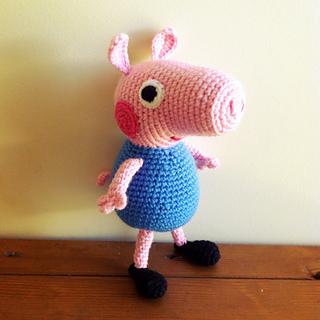 Free Amigurumi Patterns Star Wars : Ravelry: Peppa Pig Amigurumi pattern by Sabrina Boscolo