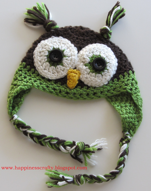 Repeat Crafter Me Crochet Owl Hat Pattern Image Collections