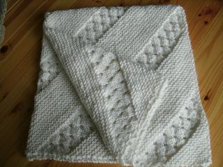 Free Crochet Pattern Heirloom Baby Blanket : Ravelry: Treasured Heirloom Baby Blanket pattern by Lion ...