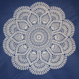 Ravelry Pink Pineapple Doily Pattern By American Thread