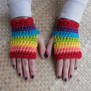 Ravelry Fingerless Gaming Amp Texting Gloves Pattern By