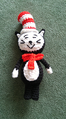 Ravelry the cat in the hat amigurumi pattern by autumn leaflet - Free cat hat knitting pattern ...