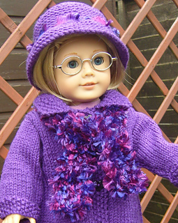 Ravelry: Fashion Scarf for 18 inch dolls pattern by Jacqueline Gibb