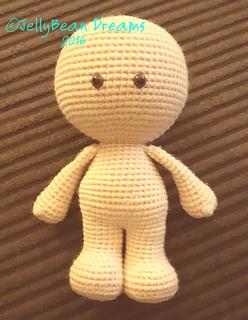 Ravelry Gumdrop Big Head Doll Pattern By Jellybean Dreams