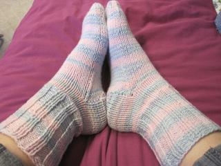 Ravelry Easy Beginner Sock Pattern Pattern By Lisa Dozier
