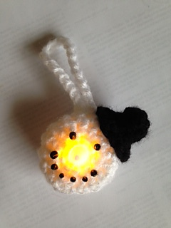 Ravelry Snowman Led Tea Light Ornament Pattern By Julia