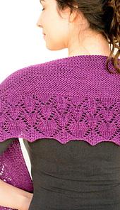 Nobadeer crescent scarf / shawl PDF