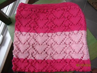 Eyelet Heart Knitting Pattern : Ravelry: eyelet hearts pattern by Vogue Knitting
