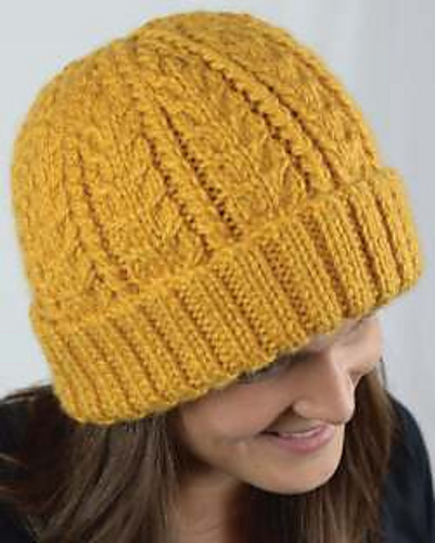 Chunky Cabled Hat PDF