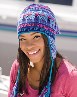 Knitting Pattern Peruvian Hat : Ravelry: Andean Chullo Hat pattern by Kerin Dimeler-Laurence