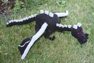Amigurumi Ender Dragon : Ravelry: Ender Dragon pattern by Becca de Kroon