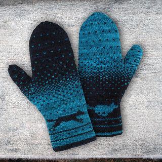 Knitting Pattern For Double Mittens : Ravelry: Yuma Double Knitting Mittens pattern by Alexandra Wiedmayer