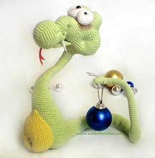 Ravelry: 018 Snake Snakish Amigurumi toy Ravelry pattern ...