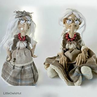 Amigurumiwitches Forum : Ravelry: 081 Charming witch Amigurumi pattern by LittleOwlsHut