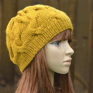 Free Knitting Patterns For Newborn Babies : Ravelry: Womens Cable Beanie KPWB02 pattern by Marisa Perrin