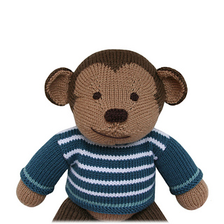 Knitting Pattern Monkey Jumper : Ravelry: Sailboat Dungarees (Knit a Teddy) pattern by Sarah Gasson