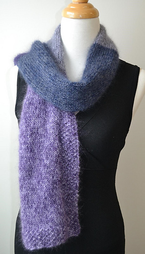 Ravelry: Angel Wings Scarf pattern by Knit & Pearls