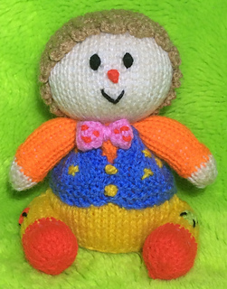 Ravelry Mr Tumble Choc Orange Cover Toy Pattern By Mary