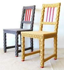 Upcycled_side_chairs_in_yellow_and_brown_side_by_side_cropped_small