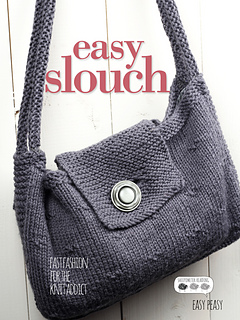Knit Slouch Bag Pattern Free : Ravelry: Easy Slouch Bag pattern by Knitsy Magazine