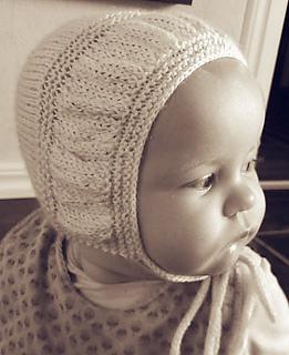 Knit Bonnet Pattern : Ravelry: I-Cord Bonnet pattern by Lotta Arnlund