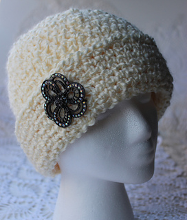 ravelry young girls fancy chemo cap pattern by kris moore