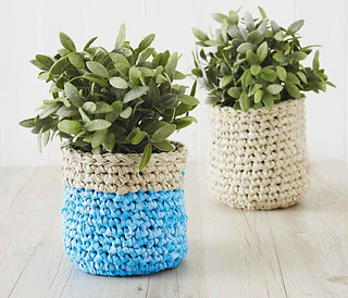 Ravelry: Plant-Pot Cover pattern by Osnat Ganor