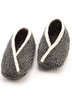 Ravelry: Adult Tiptoe Slippers (Knit) pattern by Lena ...