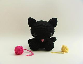 Ravelry Amigurumi Cat : Ravelry: Amigurumi Cat pattern by LittleBittyKnitter Designs