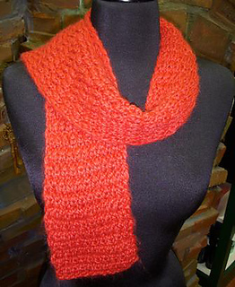 Free Knitting Pattern For Twisted Scarf : Ravelry: Knit Twist Scarf pattern by Lila Agnew