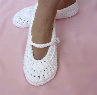 Ravelry: Wedding Shoe Slippers #22 pattern by Lisa Corinne ...