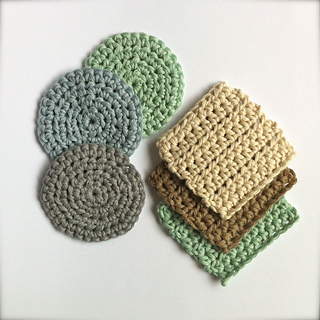 Free Crochet Pattern For Laundry Bag : Ravelry: Face Scrubbies with Laundry Bag pattern by Little ...