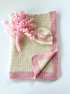 Ravelry Wrapped In Love Baby Blanket Pattern By Little